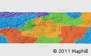 Political Panoramic Map of Anshun