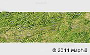 Satellite Panoramic Map of Anshun