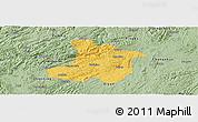 Savanna Style Panoramic Map of Anshun