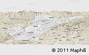 Classic Style Panoramic Map of Bijie