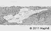 Gray Panoramic Map of Bijie