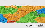 Political Panoramic Map of Bijie