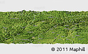 Satellite Panoramic Map of Bijie