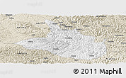 Classic Style Panoramic Map of Ceheng