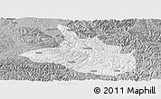 Gray Panoramic Map of Ceheng