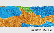 Political Panoramic Map of Ceheng