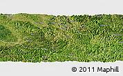 Satellite Panoramic Map of Ceheng