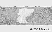 Gray Panoramic Map of Changshun
