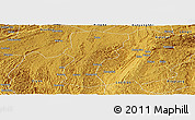 Physical Panoramic Map of Changshun