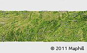 Satellite Panoramic Map of Changshun