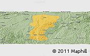 Savanna Style Panoramic Map of Changshun