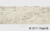 Shaded Relief Panoramic Map of Changshun