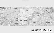 Silver Style Panoramic Map of Changshun