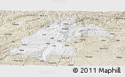 Classic Style Panoramic Map of Dafang
