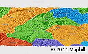 Political Panoramic Map of Dafang