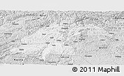 Silver Style Panoramic Map of Dafang