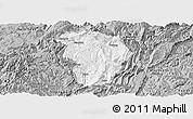 Gray Panoramic Map of Daozhen