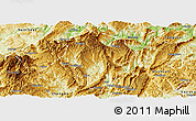 Physical Panoramic Map of Daozhen