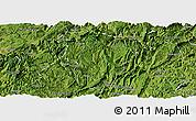 Satellite Panoramic Map of Daozhen