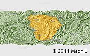 Savanna Style Panoramic Map of Daozhen