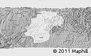 Gray Panoramic Map of Dushan