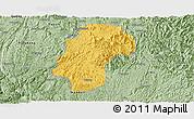 Savanna Style Panoramic Map of Dushan
