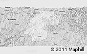 Silver Style Panoramic Map of Dushan