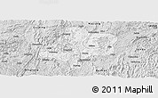 Silver Style Panoramic Map of Duyun