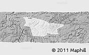 Gray Panoramic Map of Fuquan