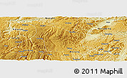 Physical Panoramic Map of Fuquan