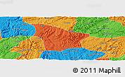 Political Panoramic Map of Fuquan