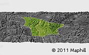 Satellite Panoramic Map of Fuquan, desaturated
