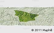 Satellite Panoramic Map of Fuquan, lighten
