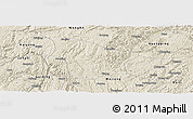Shaded Relief Panoramic Map of Fuquan