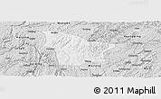 Silver Style Panoramic Map of Fuquan