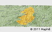 Savanna Style Panoramic Map of Guiding