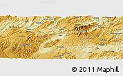 Physical Panoramic Map of Huangping