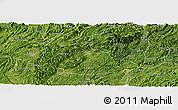 Satellite Panoramic Map of Huangping