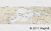 Classic Style Panoramic Map of Huishui