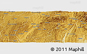 Physical Panoramic Map of Huishui