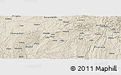 Shaded Relief Panoramic Map of Huishui