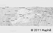 Silver Style Panoramic Map of Huishui