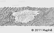 Gray Panoramic Map of Jiangkou