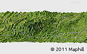 Satellite Panoramic Map of Jiangkou