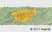 Savanna Style Panoramic Map of Jiangkou