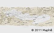 Classic Style Panoramic Map of Jinsha