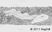 Gray Panoramic Map of Jinsha