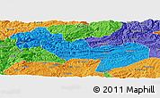 Political Panoramic Map of Jinsha