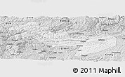 Silver Style Panoramic Map of Jinsha