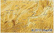 Physical 3D Map of Kaiyang
